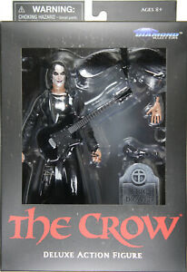 "7"" THE CROW (ERIC DRAVEN) ACTION FIGURE (MOVIE VERSION) ~ DST Diamond Select"
