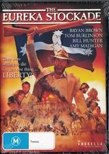 EUREKA STOCKADE - BRYAN BROWN - NEW & SEALED DVD - FREE LOCAL POST