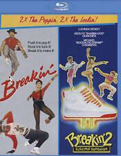 BREAKIN'/BREAKIN' 2: ELECTRIC BOOGALOO BLU-RAY - NEW UNOPENED