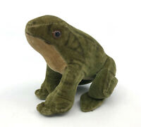 Steiff Froggy Frog Velvet Plush 8cm 3in 1960s Glass Eyes no ID Vintage