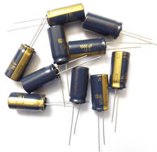 1000uf 16 V 105 C baja ESR tamaño 20mmx10mm Panasonic EEUFC 1C102S x10 un.