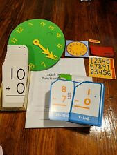 New ListingMath Manipulatives Elementary Calvert Punch Out Flash cards, 1st, 2nd, 3rd, 4th