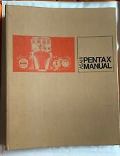 Asahi Pentax Manual, Ring Bound Publication, Cameras, Lenses, Etc, 1971
