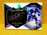 2016-17 Upper Deck Ice Superb Scripts Autograph WILLIAM NYLANDER /25 Rookie Auto