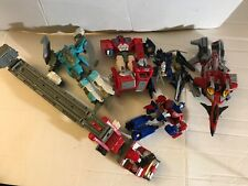 Transformers Incomplete Action Figure mixed Lot Star Scream Hasbro Jet