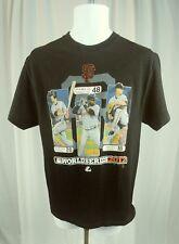 SF Giants San Francisco World Series 2012 T Shirt MLB Majestic Sz Medium
