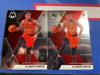 2019-20 Panini Mosaic De'Andre Hunter Base Rookie Card #239 Lot 2 Atlanta Hawks!