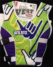 BNIB Wahu swimming aid vest Green size S,M available Swim Vest Swim Float