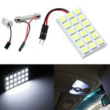 18 SMD 5050 LED T10 BA9S Cúpula Tipo fusible Interior Del Coche Panel Luz luz