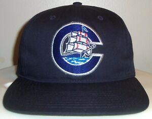 VINTAGE 90's COLUMBUS CLIPPERS MILB TWINS MINOR LEAGUE SNAPBACK CAP HAT