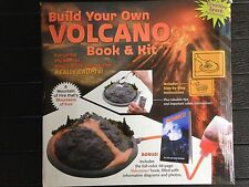 MUD PUDDLE BOOKS BUILD YOUR OWN VOLCANO BOOK & KIT NEW IN BOX