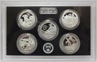 2016 US MINT 5 COIN AMERICA the BEAUTIFUL 90% SILVER PROOF QUARTER SET