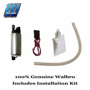 New Walbro High Performance 255 LPH Fuel Pump & Installation Kit GSS342-1000