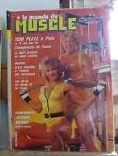 """lot de 18 magazines """"Le Monde du Muscle"""" en lot ou à l'unité"""