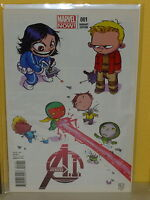 AVENGERS A.I. #1 - Baby Variant - SKOTTIE YOUNG - The Vision - MARVEL NOW