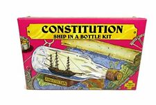 NEW USS Constitution Ship Build Your Own Boat In A Bottle Model Kit  Made In US