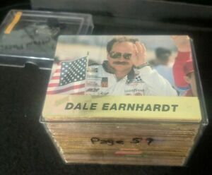 1994 Action Packed NASCAR Racing Card Set 1-66 (2) D. Earnhardt, J. Gordon Irvin