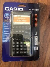 Brand *New* Casio Usb Power Graphic 3 Graphing Calculator, Black (Fx-9750Giii)