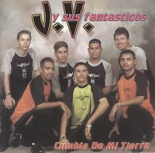 JV Y Sus Fantasticos Cumbia De Mi Tierra  CD New No Plastic Cover