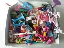 Junk Drawer Lot Barbie Polly Pockets Disney Princess Mini Food Guitars Geocache
