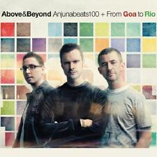 Above & Beyond = Anjunabeats 100+ from Goa to Rio = 2cd/dvd = Trance Progressive!!!