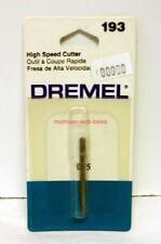 "Dremel Rotary Tool~#193~High Speed Cutter (1/8"" shank)~NOS~OOP"