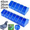 Poultry Chicken Bird Pigeon Trough Feeder Plastic Storage Cup Ground Drinker