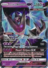 Pokemon SM - Ultra Prism Dawn Wings Necrozoma GX 63/156 Ultra Rare Card NM