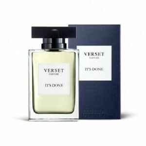 Verset Parfums Fragrance For Him. Authentic Perfume - IT'S DONE 100ml