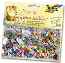 folia Schmucksteine-set über 800 teile sortiert