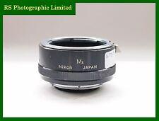 Nikon M2 Macro Tubo de extensión. Stock no. U7530