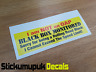 BLACK BOX MONITORED Young Driver Car Insurance Warning Sticker Decal New Driver