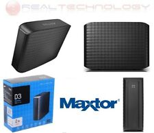 HARD DISK ESTERNO 3,5 2TB MAXTOR USB 3.0 2000GB D3 STATION HD HDD