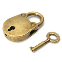 Old Vintage Retro Antique Style Mini Padlocks Key Lock 1Ksd SALE Gift