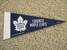 "Toronto Maple Leafs Nhl Hockey Team Mini 9"" Souvenir Felt Pennant Flag New"