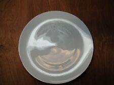 "Sango Japan Fine China CANTATA 6202 Set of 5 Dinner Plates 10 5/8"" White & Grey"