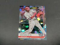 VICTOR ROBLES 2019 TOPPS CHROME SAPPHIRE REFRACTOR FUTURE STARS # 402 NATIONALS