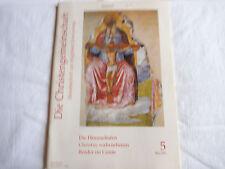 Zeitschrift: Die Christengemeinschaft. 5 / 2001