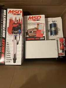 MSD 85501 Chevy Pro-Billet Distributor Ignition Kit, 6425/31229