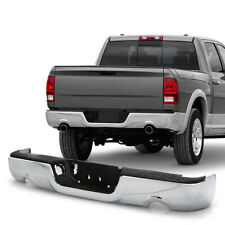 For 09-18 Dodge Ram 1500 PickUp Dual Exhaust Model Rear Bumper Chrome Assembly