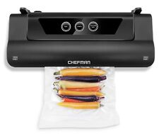 Chefman Electric Food Vacuum Sealer Machine Storage Black RJ45