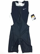 Nike Womens Triathlon Unisuit Size Small Zip Up Tri Suit One Piece [712743]