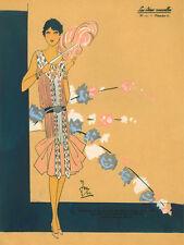 """20x30"""" CANVAS Decor.Room design art print..Nouveau Retro Vogue fashion.6171"""