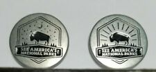 See America'S National Parks Day And Night Tokens Nps Collectible Coin 2 Tokens