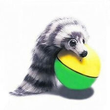 Hot Funny Pet Dog Puppy Cat Rolling Ball with Weasel Motorized Appears Toy
