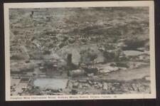 Postcard SUDBURY Ontario/CANADA  Creighton Nickle Mine Aerial view 1930's