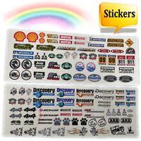 DIY Logo Stickers Decal Skin Decor Parts For Traxxas TRX4 Axial Scx10 Tamiya RC