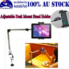 AU Flexible Lazy Swing Arm Tablet Desk/Car Mount Stand Holder For ipad Phones MQ