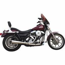 Supertrapp Polished 2-into-1 Megaphone Exhaust for 1984-94 Harley FXR 826-71357