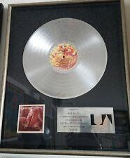 Kenny Rogers KENNY Platinum Non RIAA Record Award ORIGINAL!